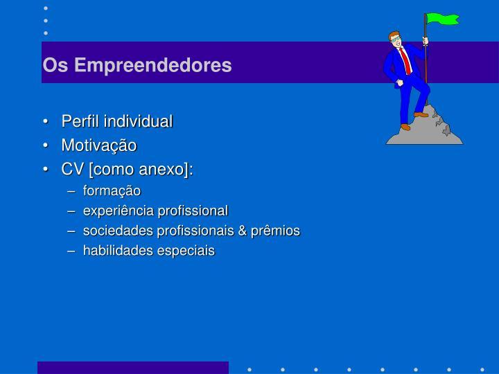 Os Empreendedores