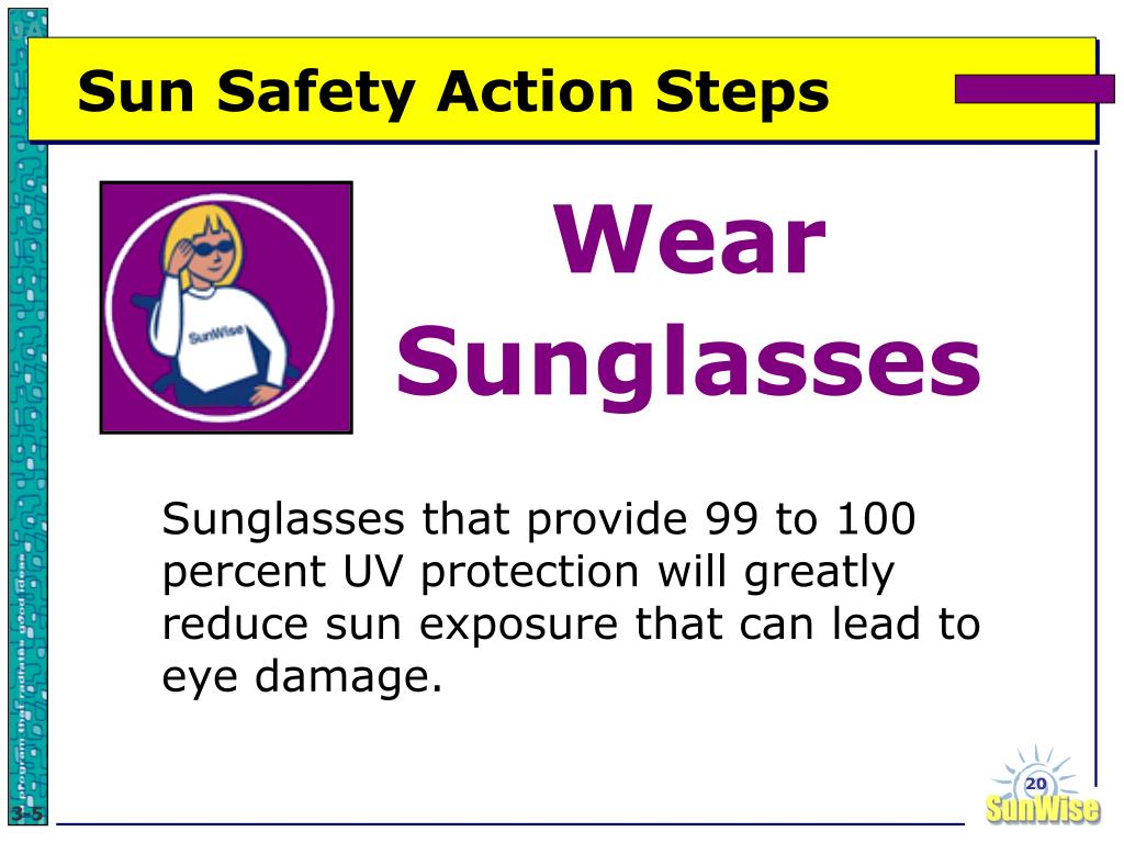 Sun Safety Action Steps