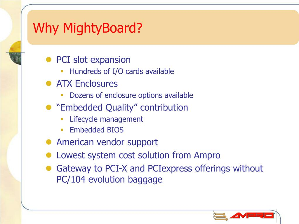 Why MightyBoard?