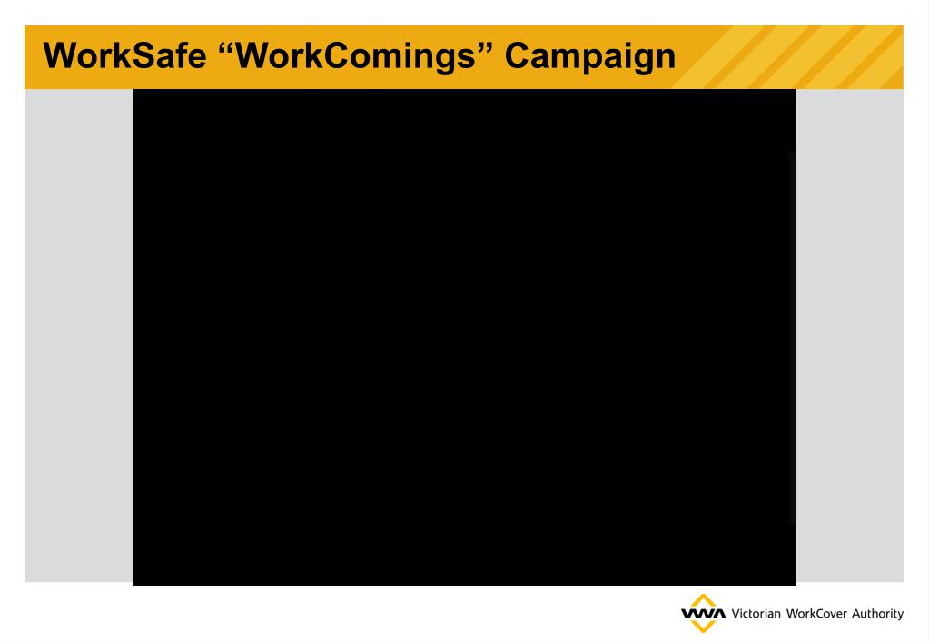 "WorkSafe ""WorkComings"" Campaign"
