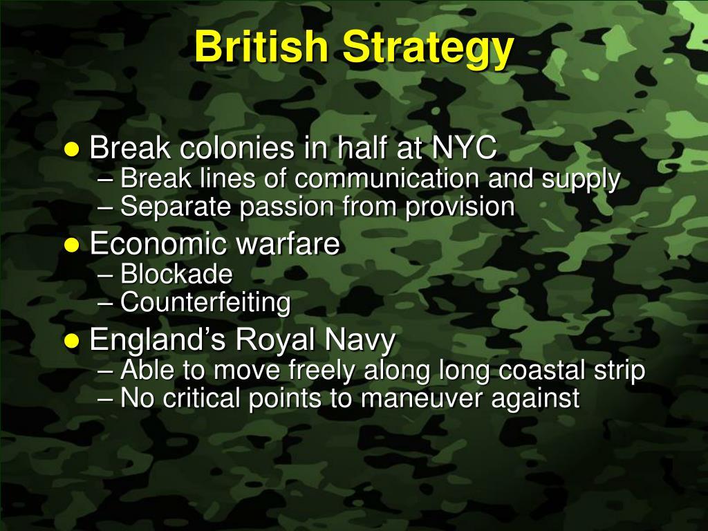 British Strategy