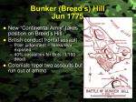 bunker breed s hill jun 1775