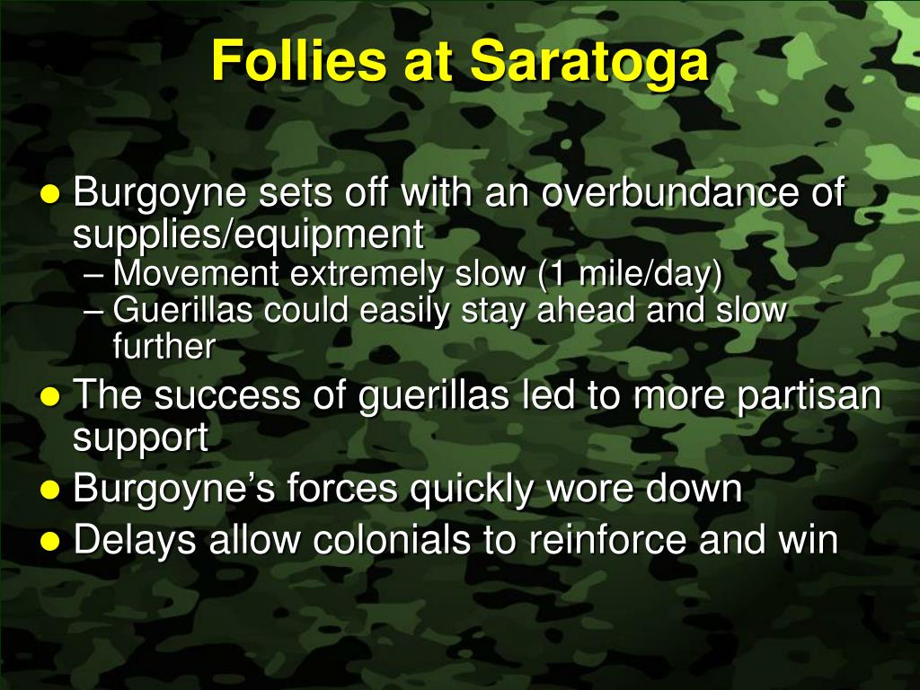 Follies at Saratoga