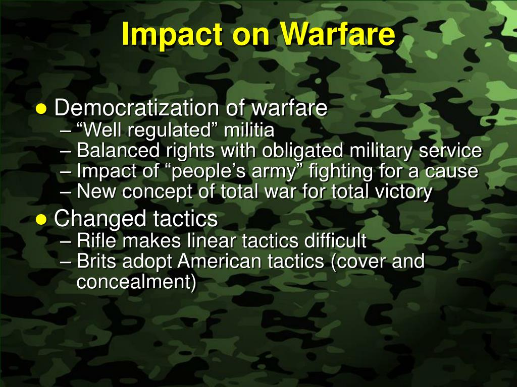 Impact on Warfare