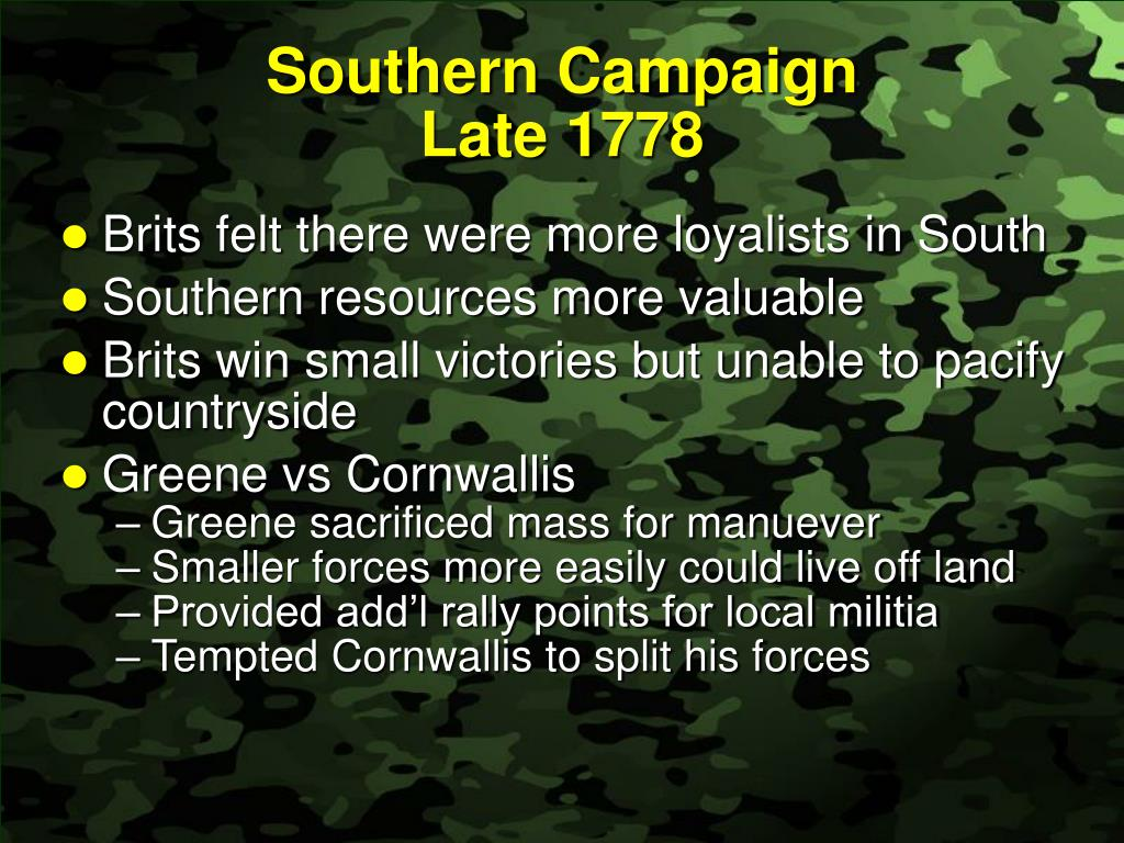Southern Campaign