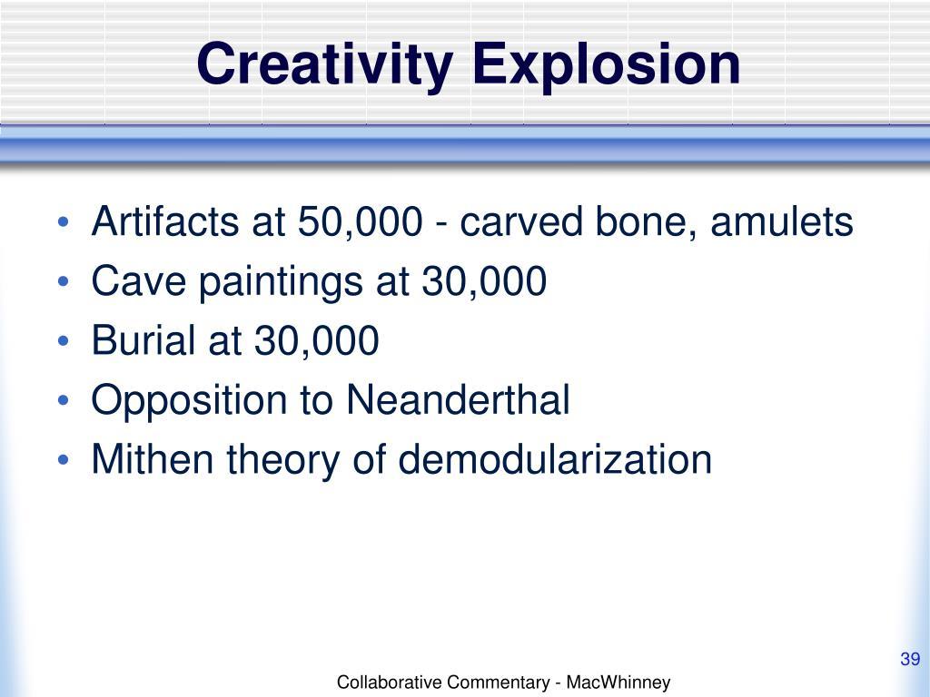Creativity Explosion