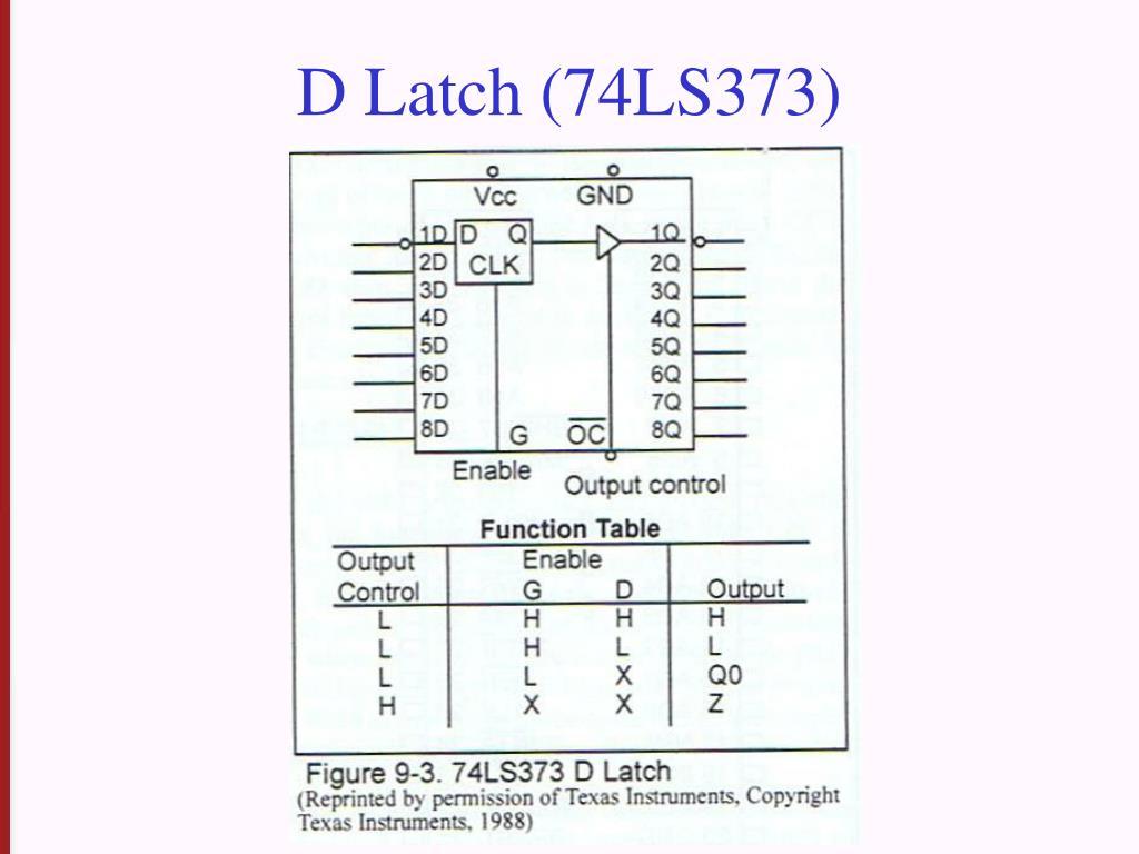 D Latch (74LS373)