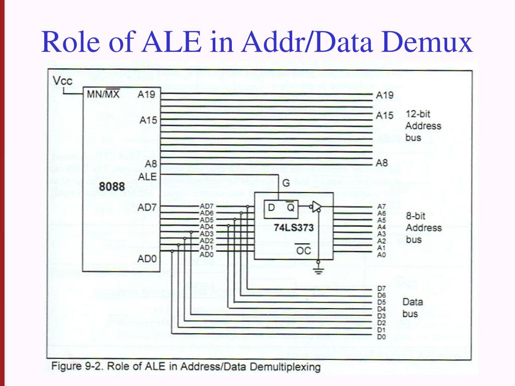 Role of ALE in Addr/Data Demux