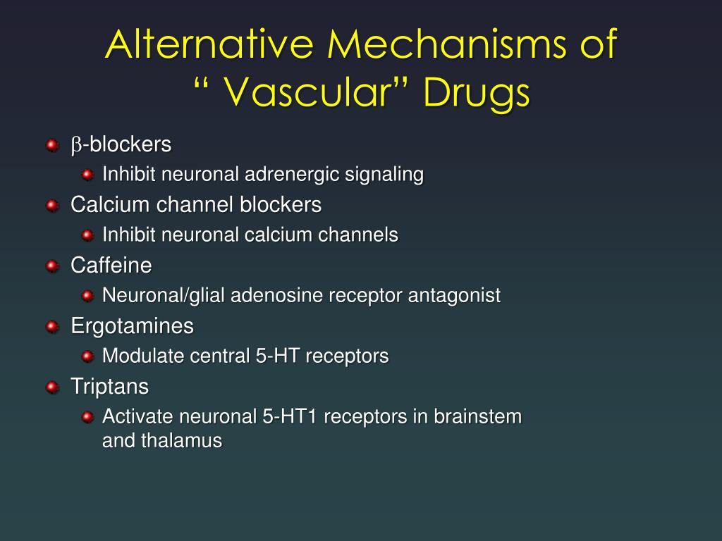Alternative Mechanisms of