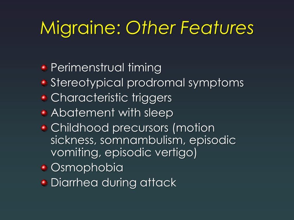 Migraine: