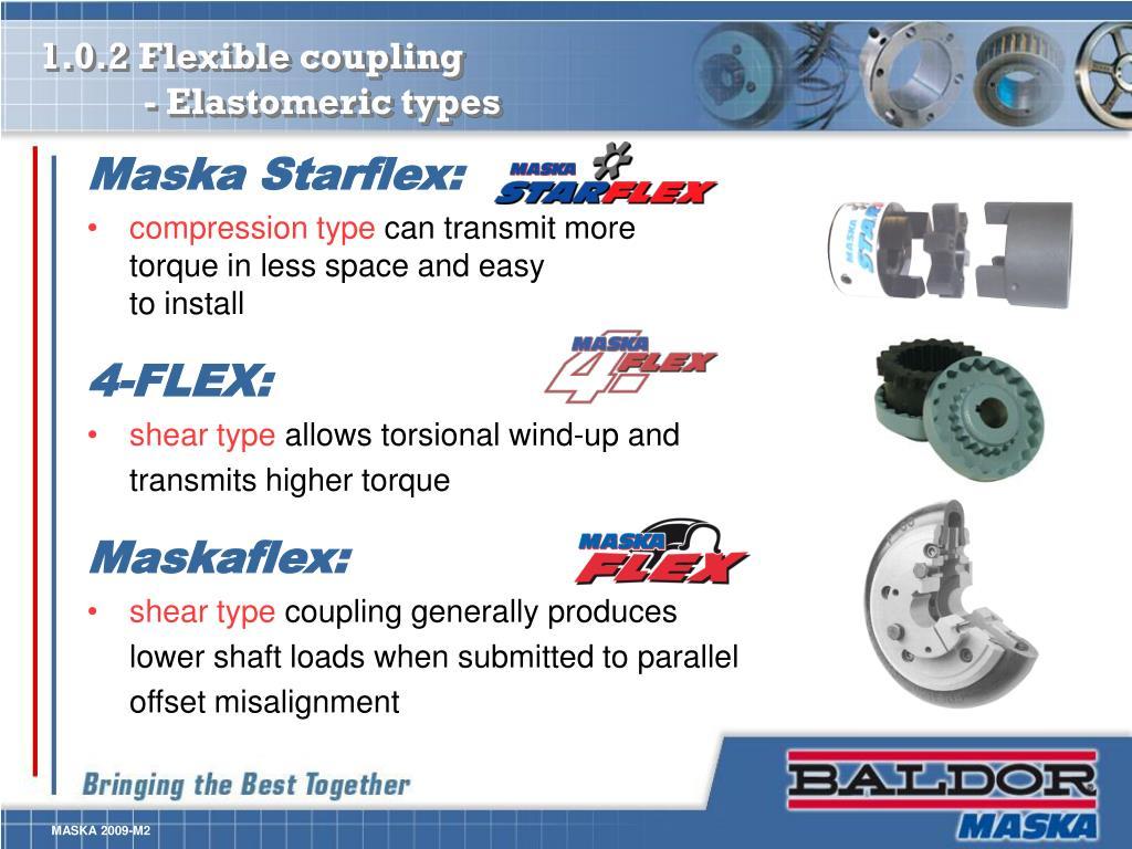 1.0.2 Flexible coupling
