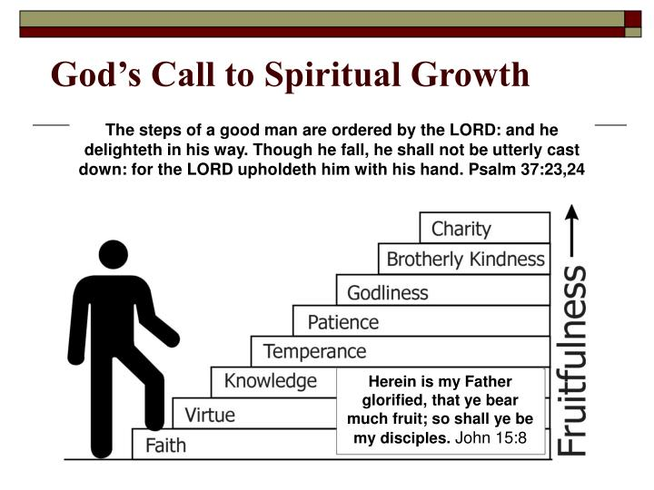 God s call to spiritual growth