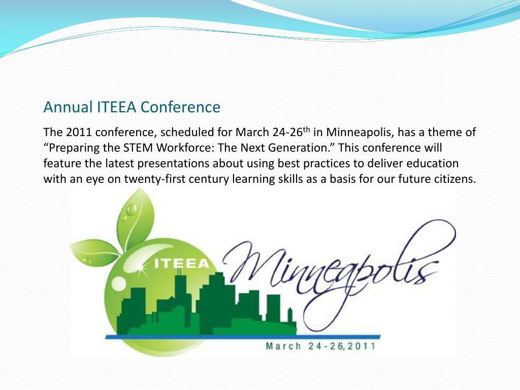 The 2011 conference, scheduled for March 24-26
