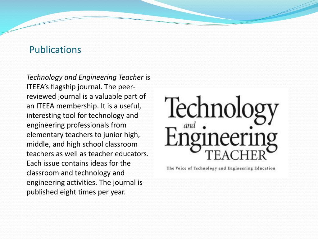 Technology and Engineering Teacher