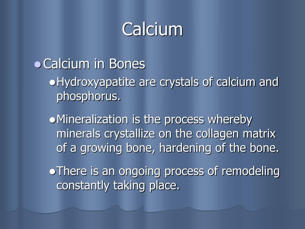 Calcium
