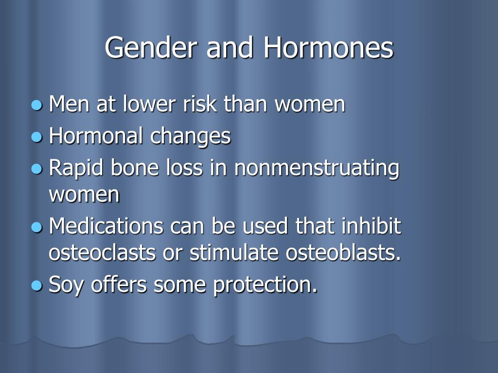 Gender and Hormones