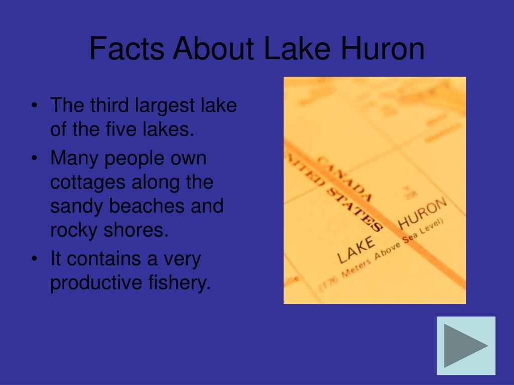 Facts About Lake Huron