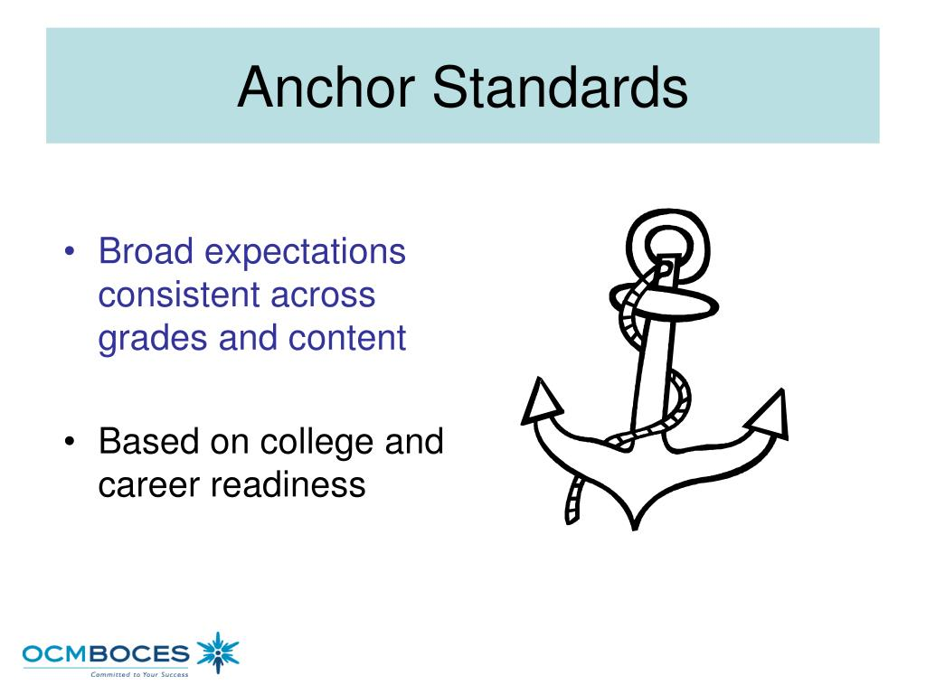 Broad expectations consistent across grades and content