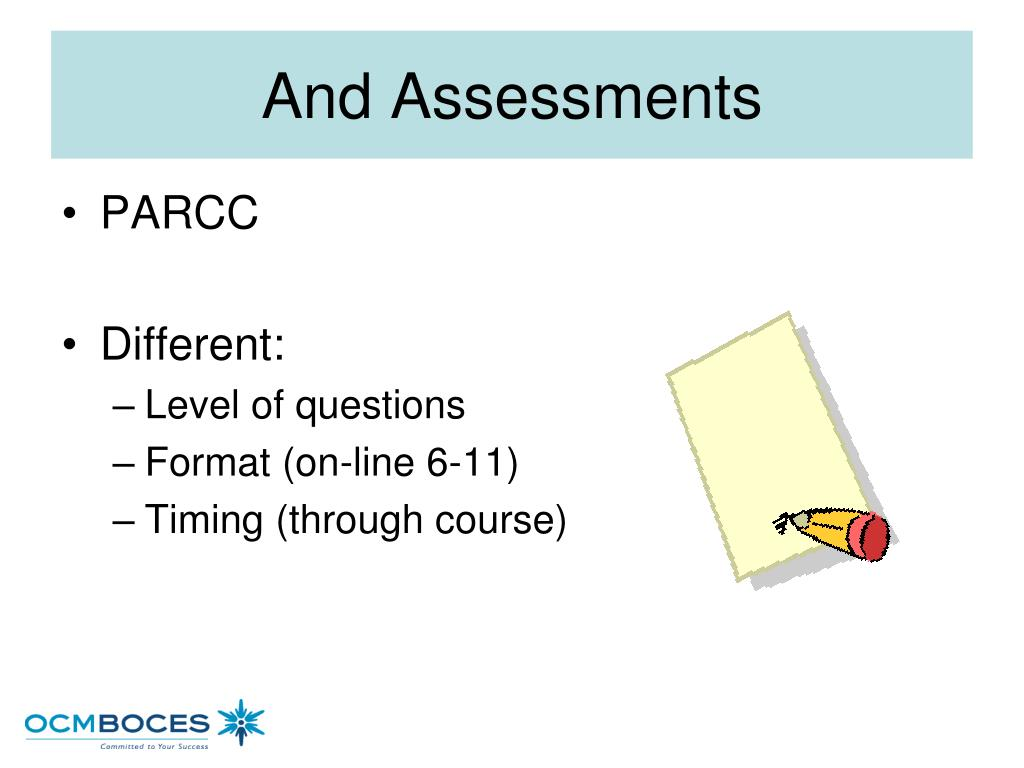And Assessments