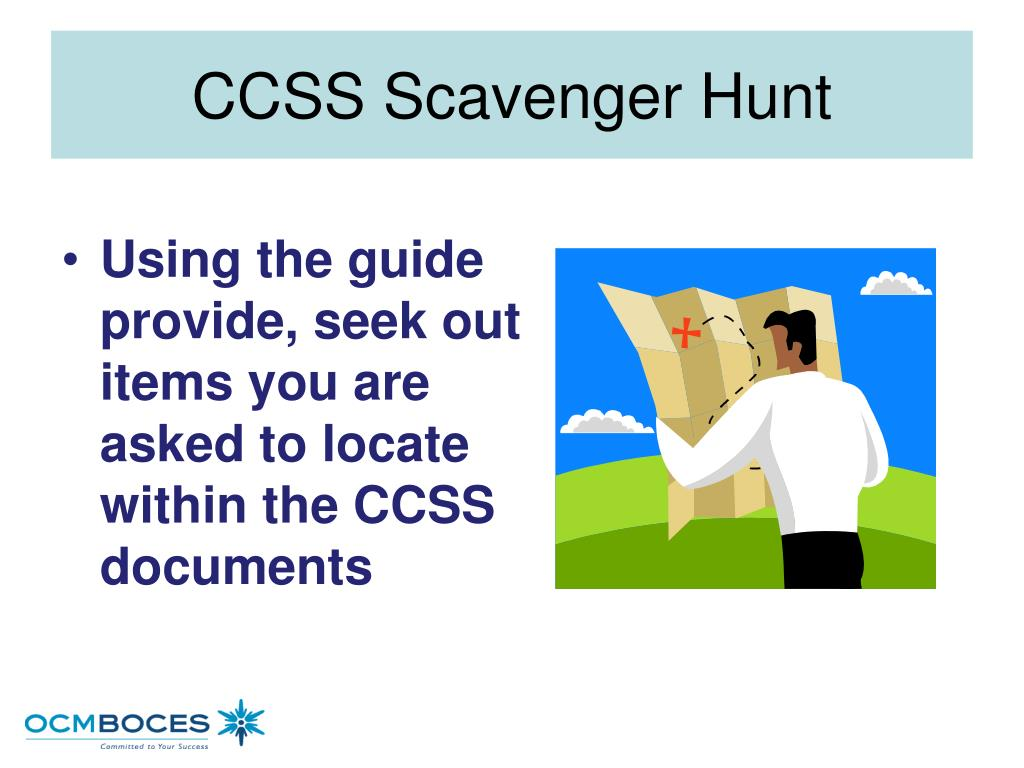 CCSS Scavenger Hunt