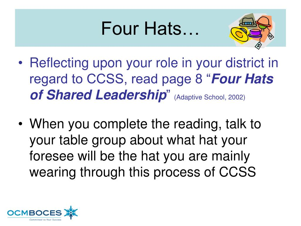 Four Hats…