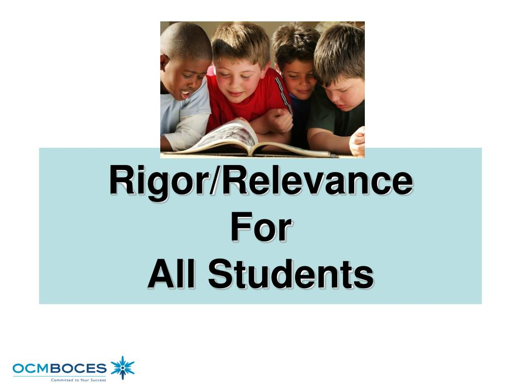 Rigor/Relevance