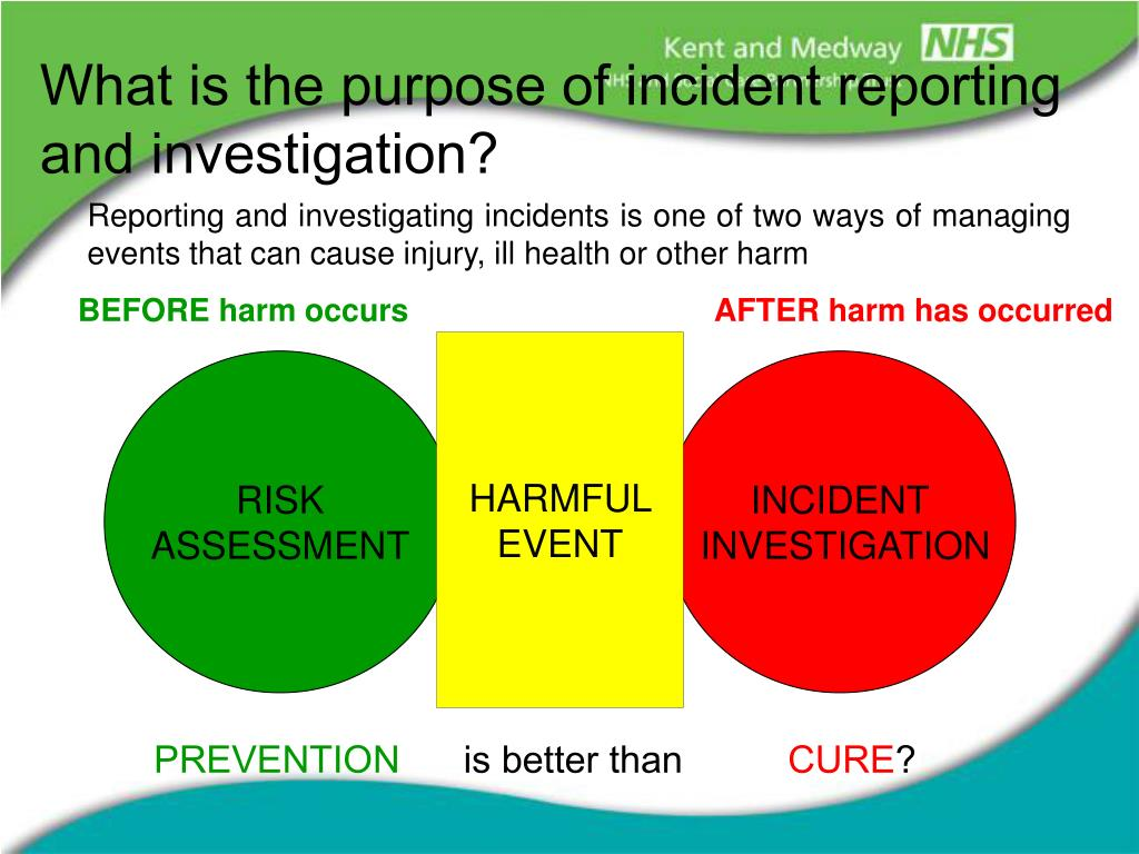 what is an incident report