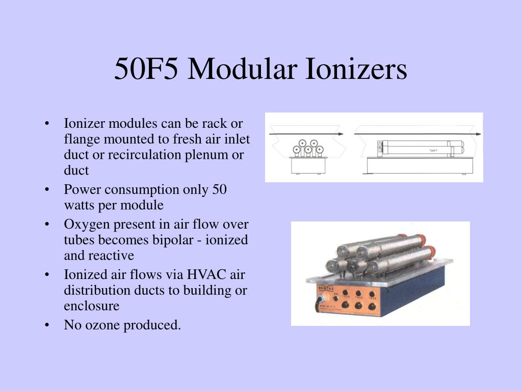 50F5 Modular Ionizers