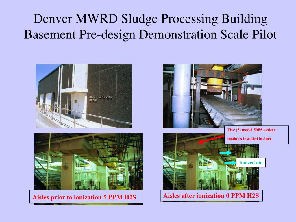 Denver MWRD Sludge Processing Building Basement Pre-design Demonstration Scale Pilot