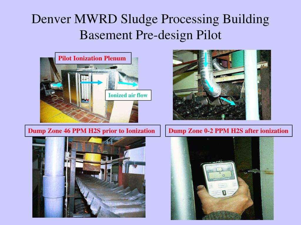 Denver MWRD Sludge Processing Building Basement Pre-design Pilot