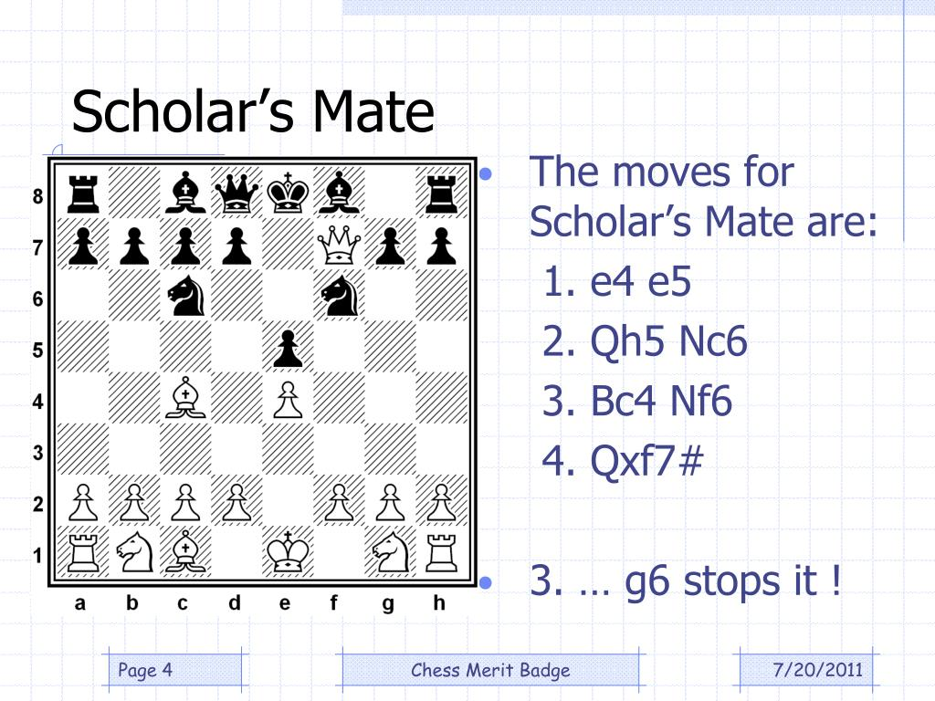 Scholar's Mate