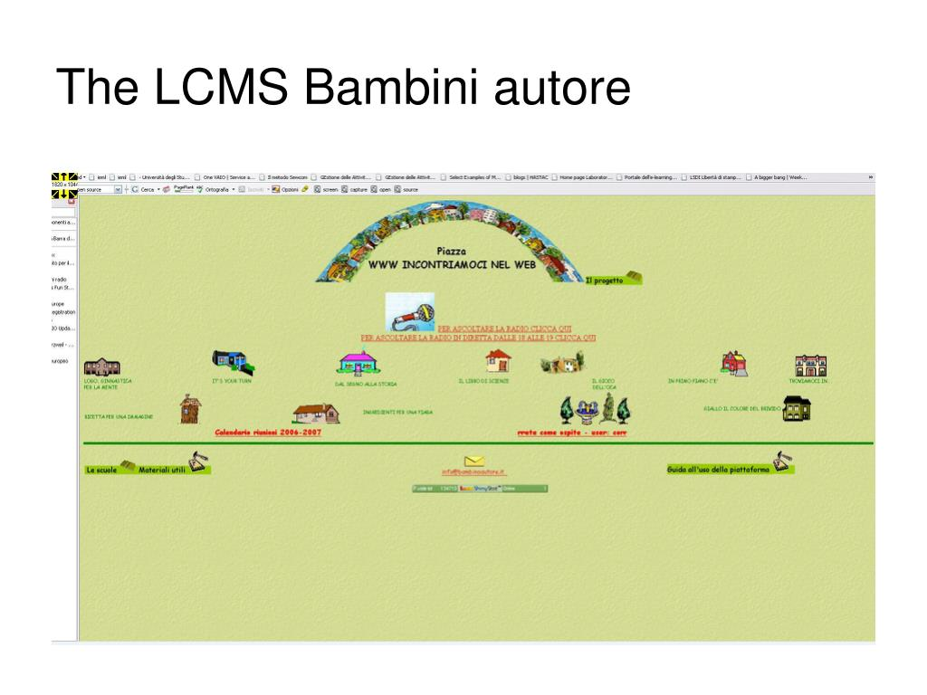 The LCMS Bambini autore