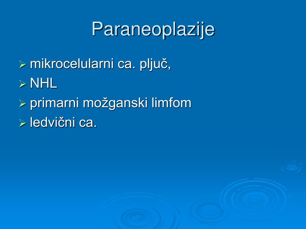 Paraneoplazije
