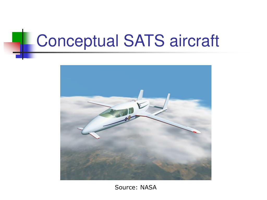 Conceptual SATS aircraft