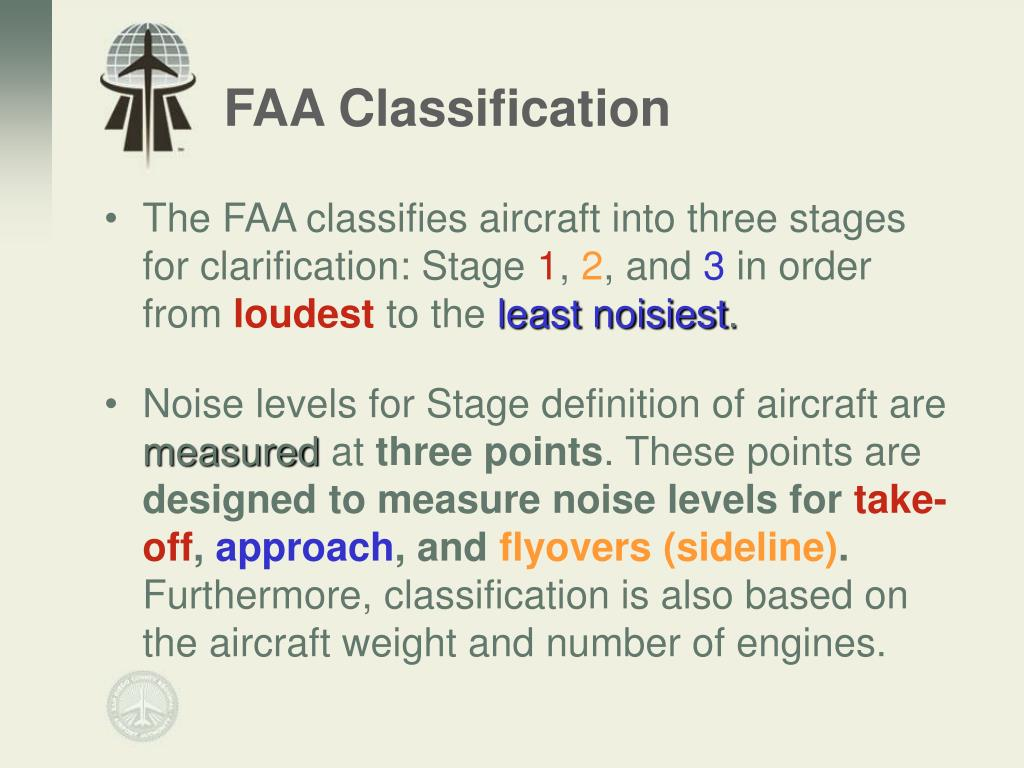 FAA Classification