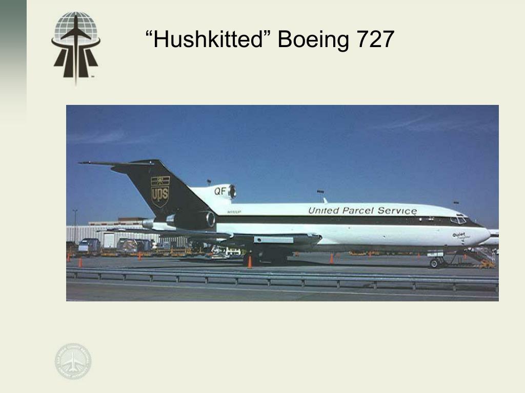 """""""Hushkitted"""" Boeing 727"""