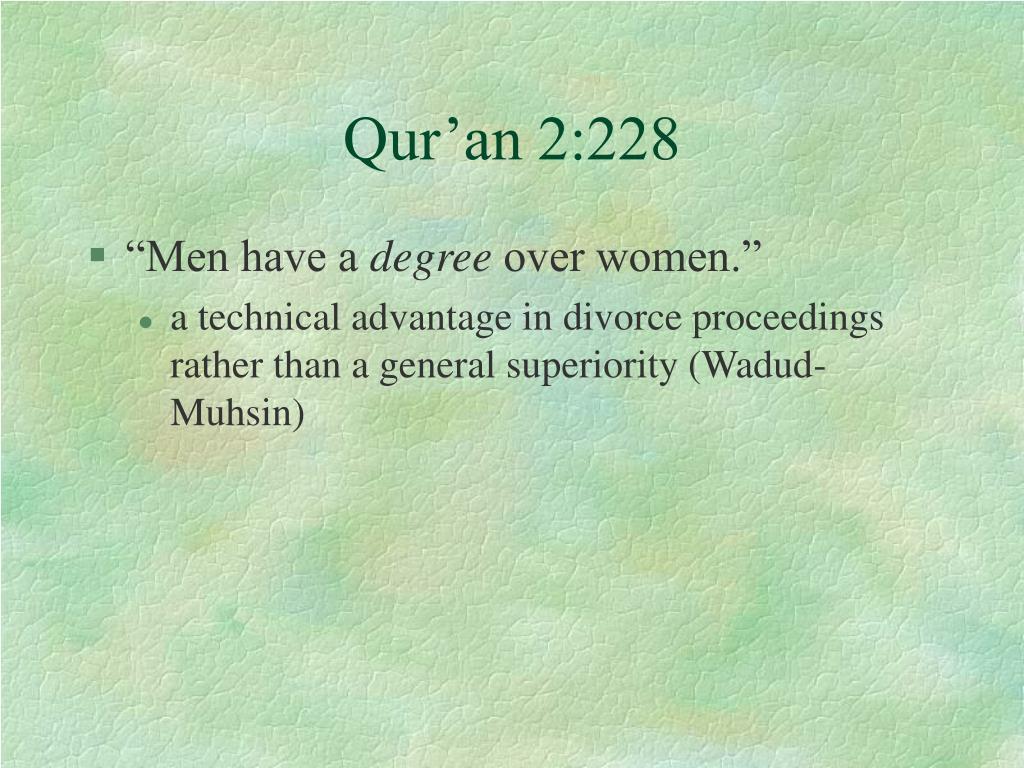 Qur'an 2:228