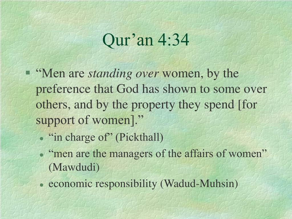 Qur'an 4:34