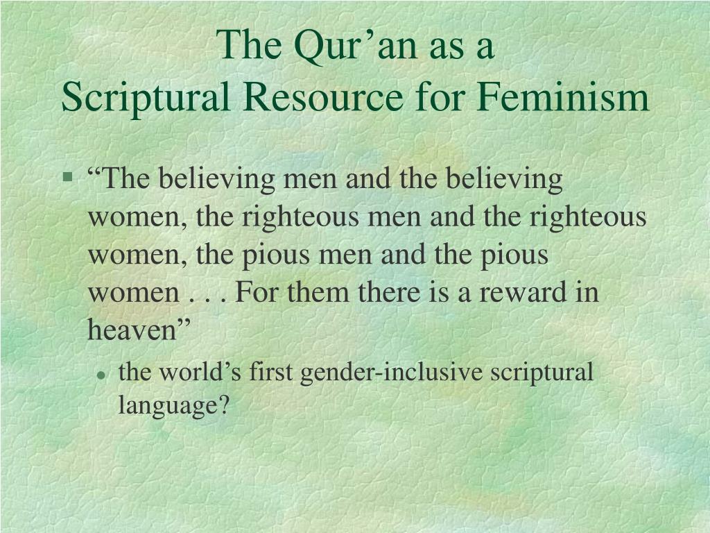 The Qur'an as a