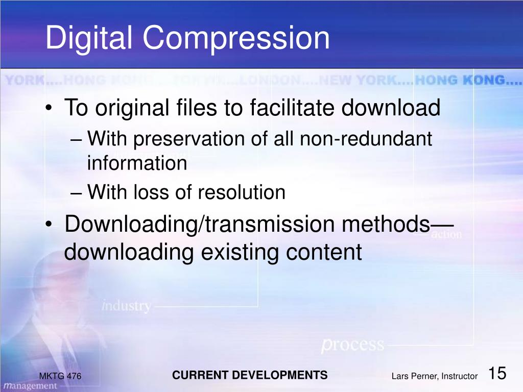 Digital Compression