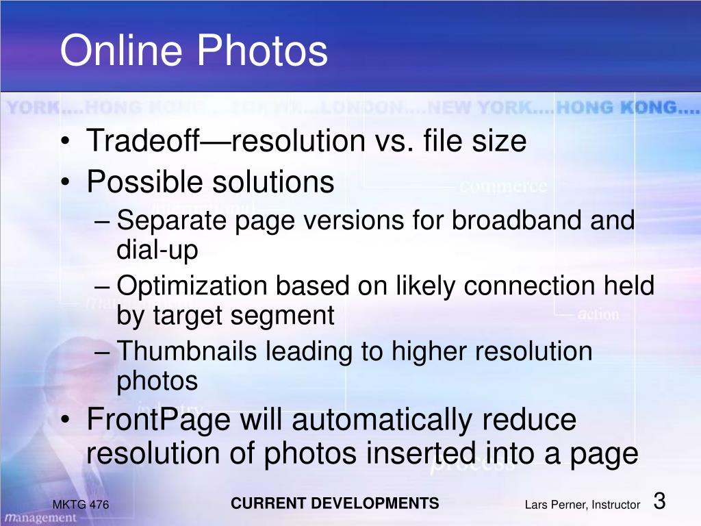 Online Photos