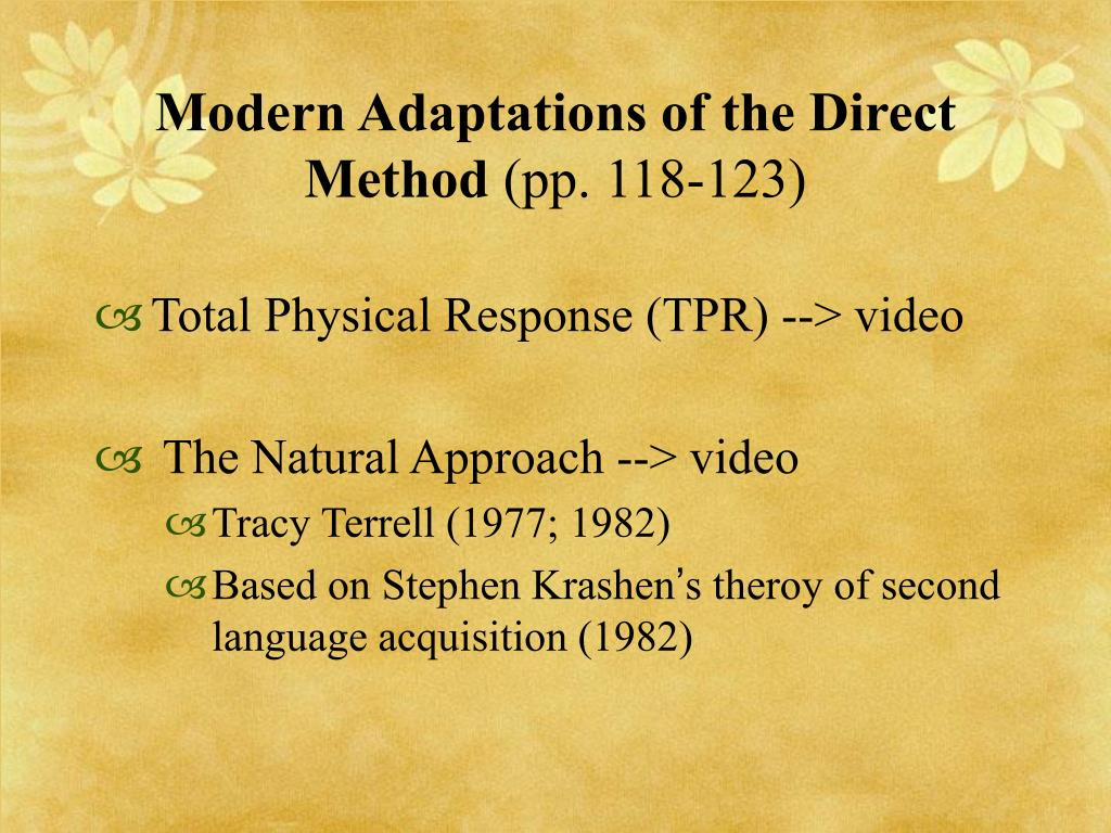 Modern Adaptations of the Direct Method