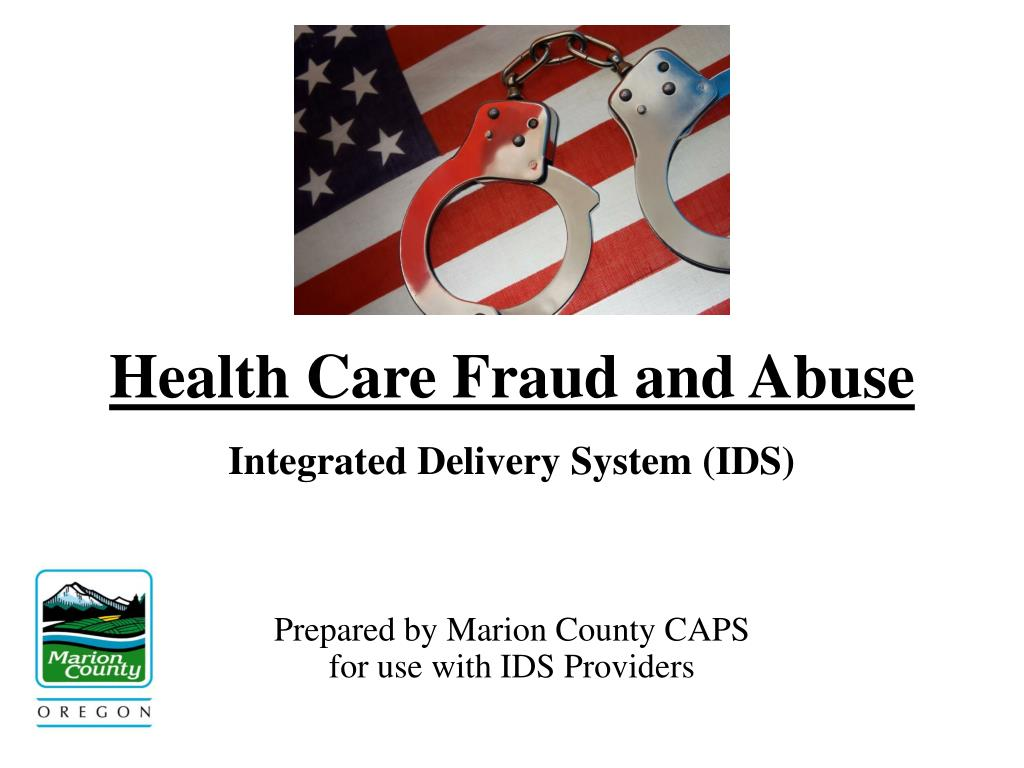 PPT  Health Care Fraud and Abuse PowerPoint Presentation  ID:439787