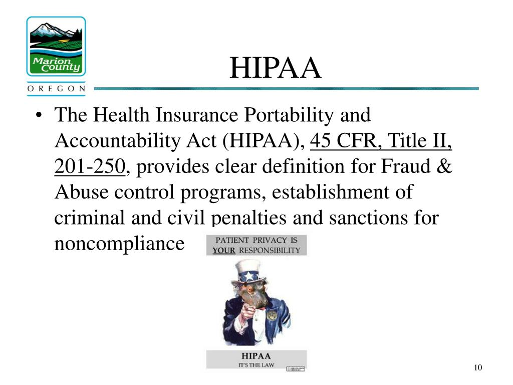 the health insurance portability and accountability Dol web pages on this topic the health insurance portability and accountability act (hipaa) provides rights and protections for participants and beneficiaries in group health plans.