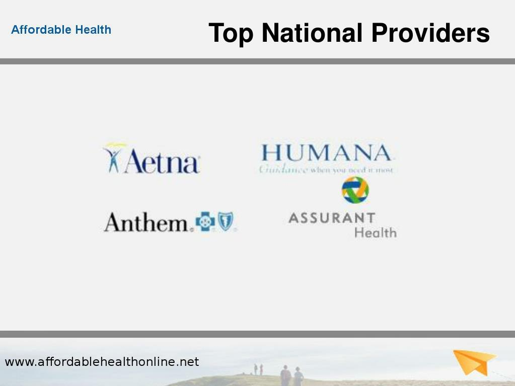 Top National Providers
