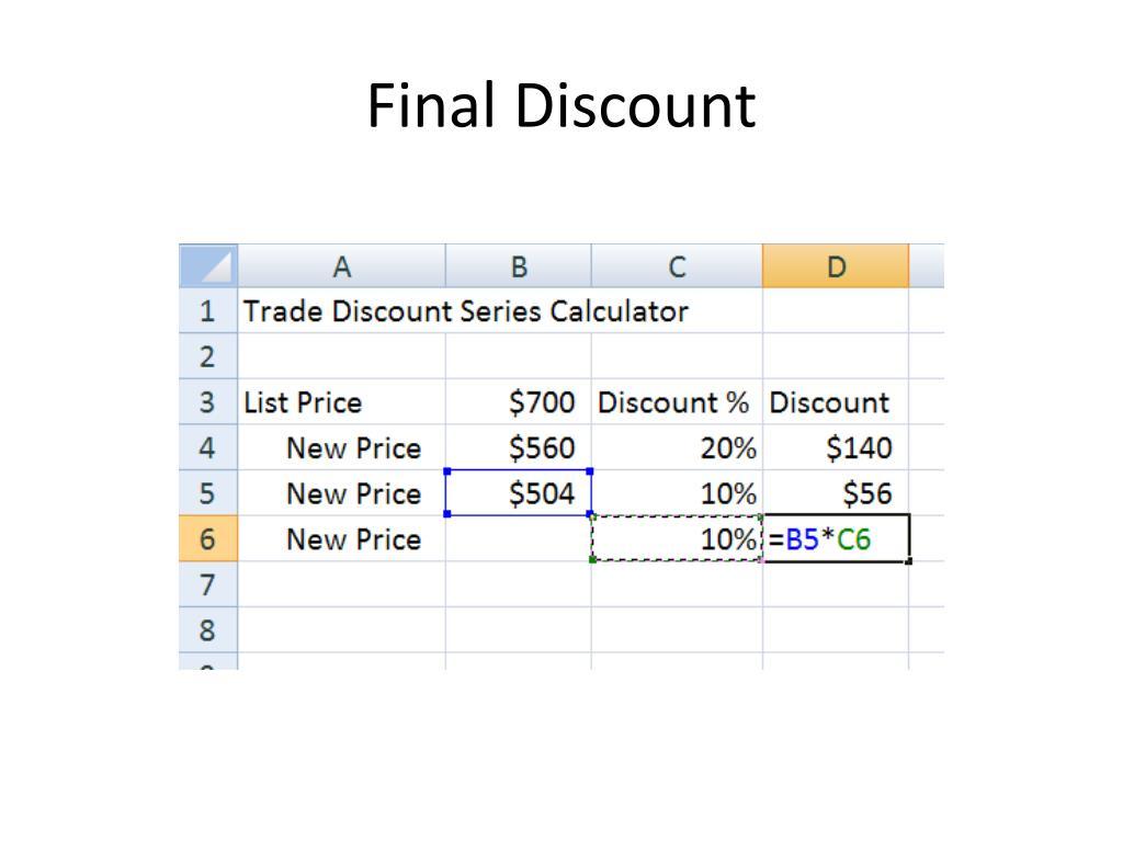 Final Discount