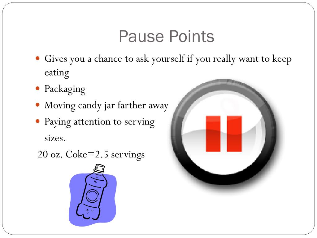 Pause Points