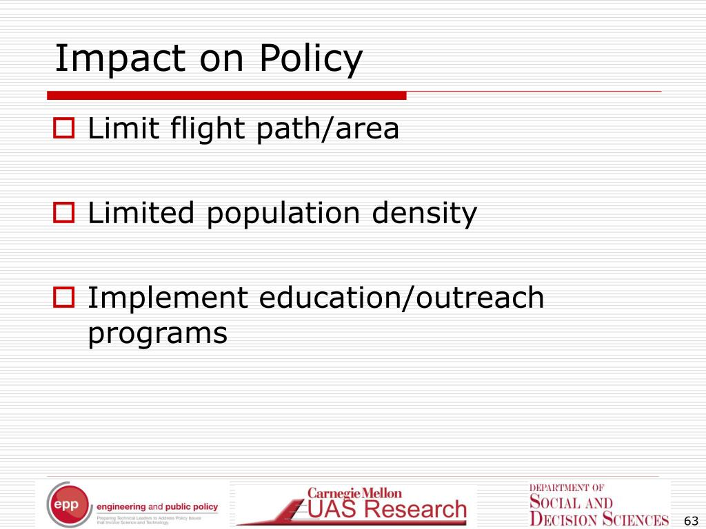 Impact on Policy