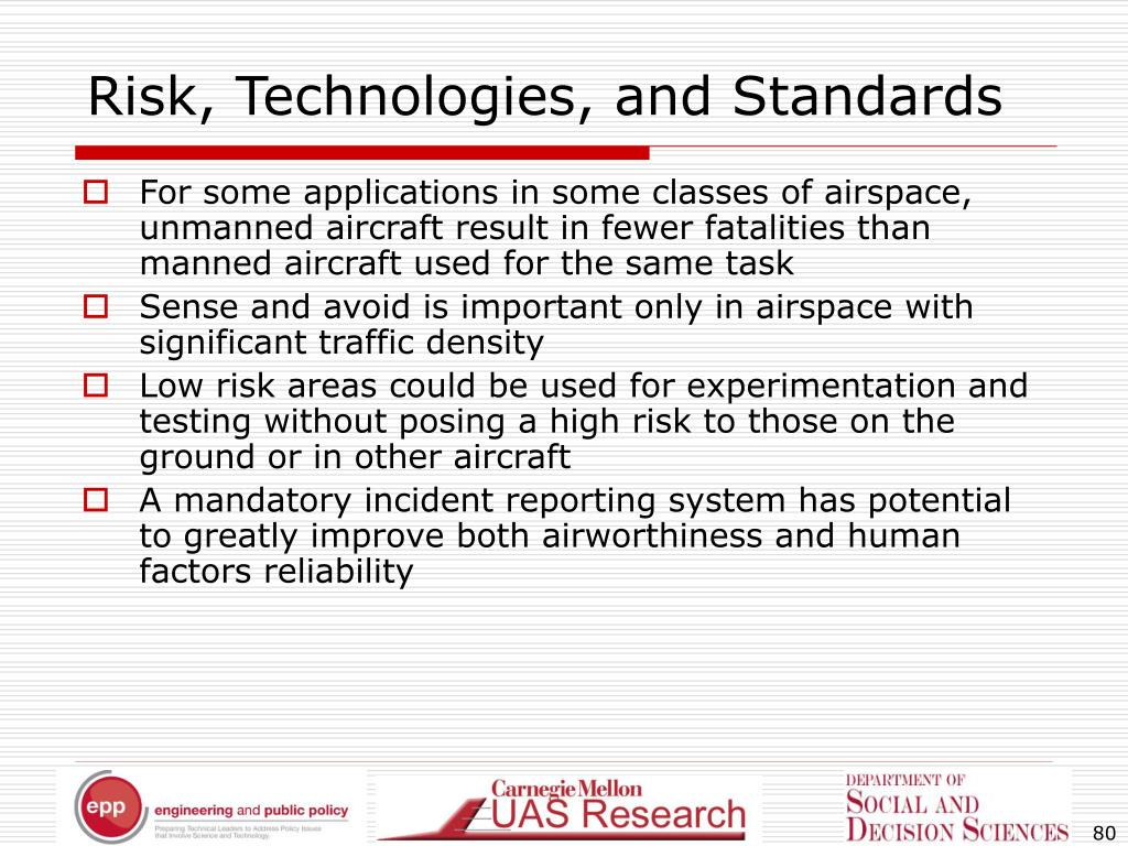 Risk, Technologies, and Standards