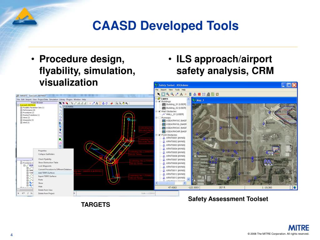 Procedure design, flyability, simulation, visualization